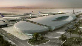 Qattamiya-Airport. Soon finished at the New Capital City near Cairo. Egypt.